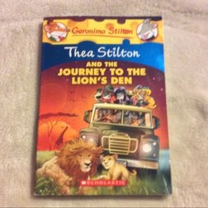 Thea Stilton And The Journey To The Loins Den